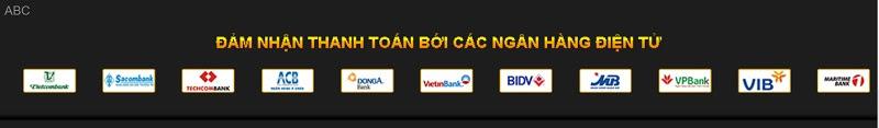 Thanh toán qua hệ thống ngân hàng nội địa uy tín tại Casino889
