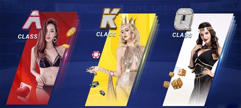 Sòng Casino Live đẳng cấp Châu Âu tại nhà cái Sky88
